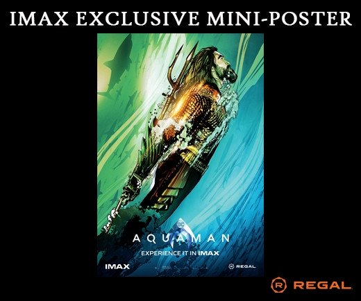 "Aquaman 13""x19""  IMAX Mini-Poster (Week 2)"