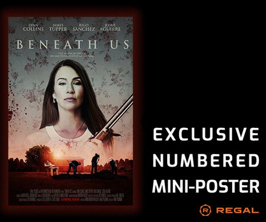 "Beneath Us - 11"" x 17"" Numbered Mini-Poster"