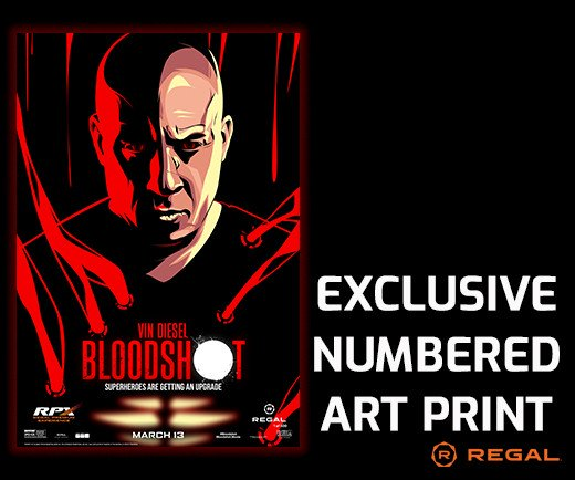 "Bloodshot - Regal Exclusive 13"" x 19"" Numbered Art Print"