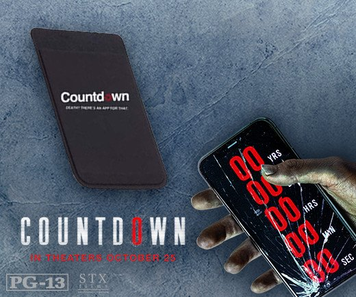Countdown - Silicone Phone Wallet
