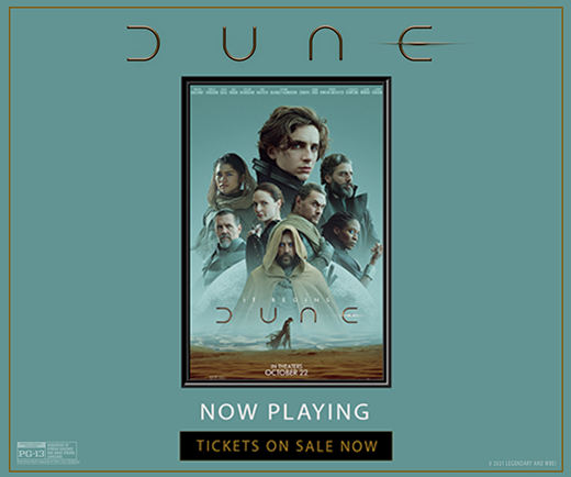 Sweepstakes - Dune Signed Poster