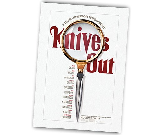 "Knives Out - 27"" x 40"" Theatrical Poster"