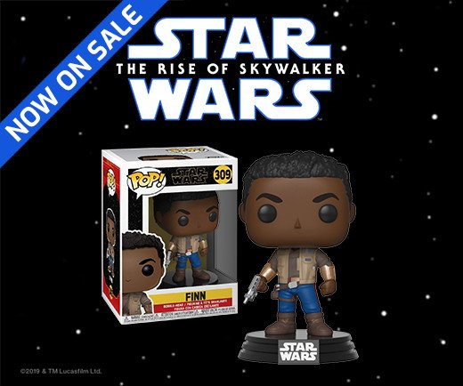 Star Wars: The Rise of Skywalker - Funko Pop! Finn Figure