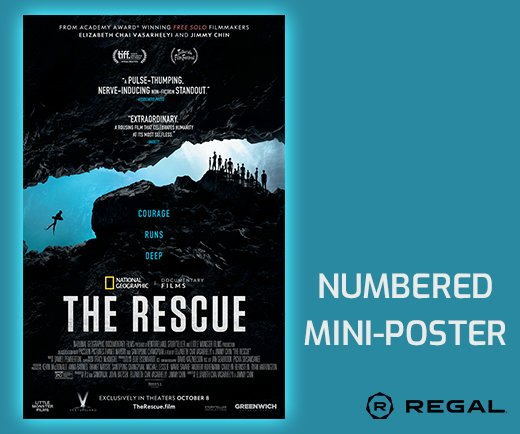 """The Rescue 11"""" x 17"""" Numbered Mini-Poster"""