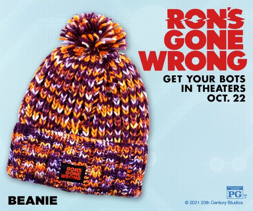 Ron's Gone Wrong - Beanie Hat